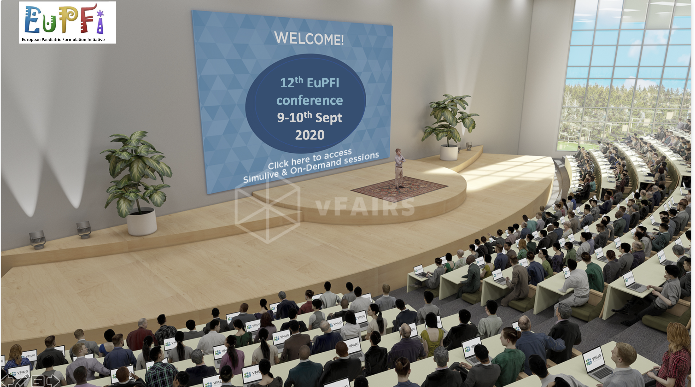 Auditorium EuPFI 2020