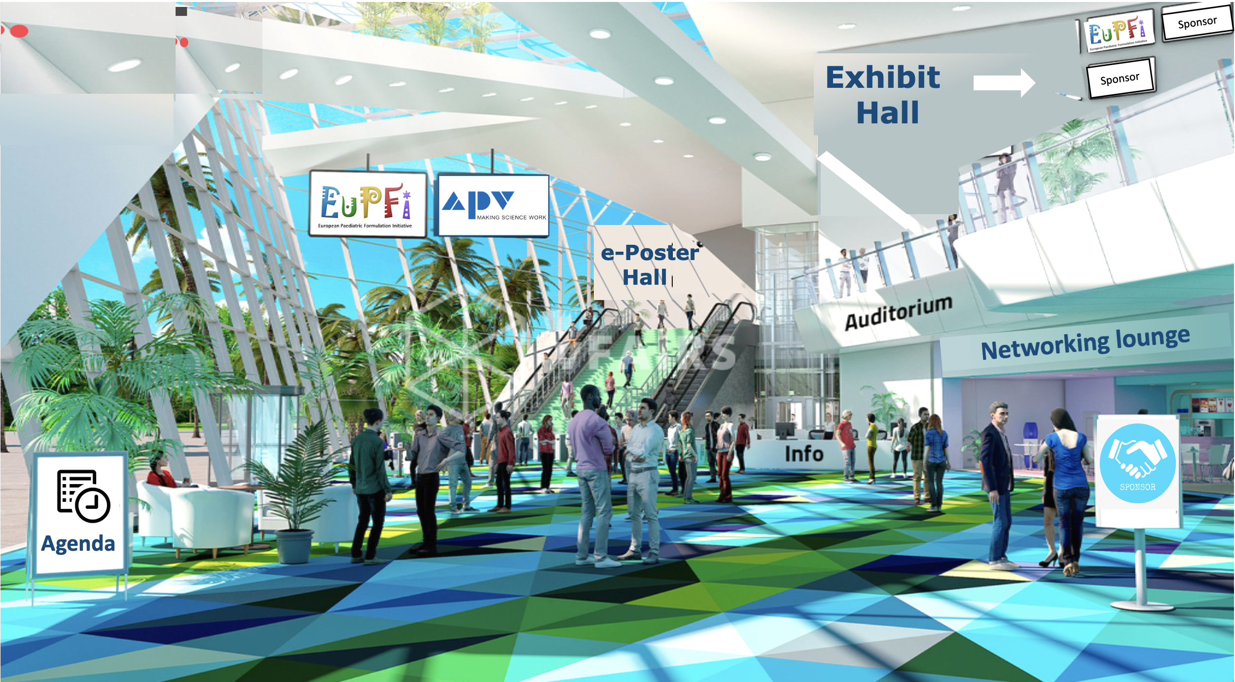 Eupfi 2020 virtual lobby